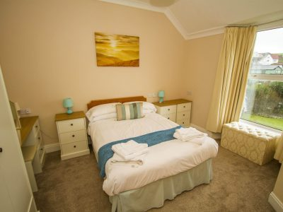 Double Bedroom 1, apt 2, overlooking St Brides Bay, Broad Haven, Pembrokeshire