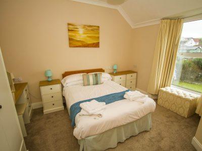 Double Bedroom 1, apt 2, overlooking St Brides Bay, Broad Haven, Pembrokeshire